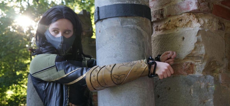 Costume de cosplay fait avec des aimants
