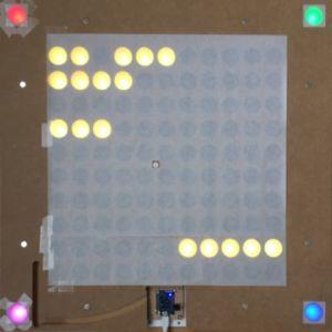 59 300x300 - L'horologe LED avec les mots