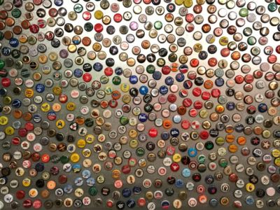 Bouchons de bouteilles à couronne magnétique