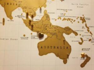 500 1 300x225 - Carte de voyage - babillard avec une carte du monde de bricolage sans l'aide de clous
