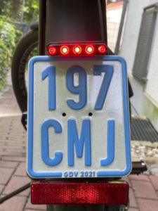 803 225x300 - Fixation de la plaque d'immatriculation sur un S-Pedelec