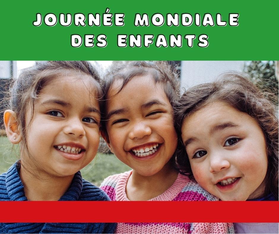 Weltkindertag fr 1 - Journée mondiale de l'enfance 2021